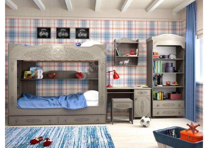 Ассоль plus Грей, АС-243К стол, Детская мебель, Модульные детские комнаты, Ассоль plus Грей, Стоимость 7747 рублей., фото 4