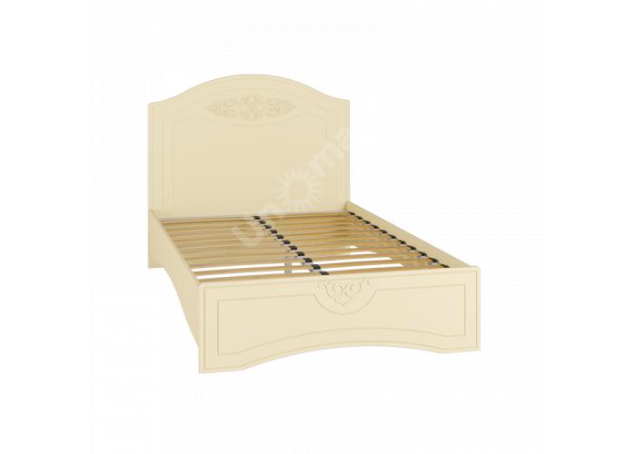 Ассоль plus Ваниль, АС-111К кровать без ламелей