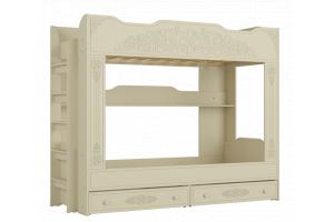 Ассоль plus Ваниль, АС-25 двухъярусная кровать
