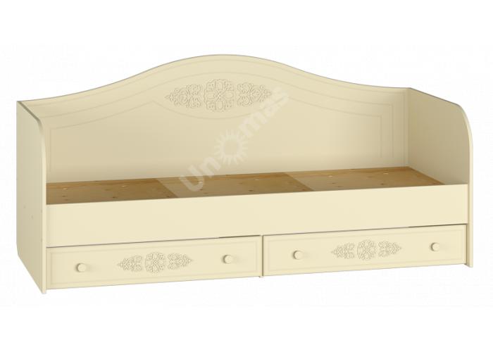 Ассоль plus Ваниль, АС-10 кровать (бортик в комплекте), Детская мебель, Детские кровати, Стоимость 14679 рублей.