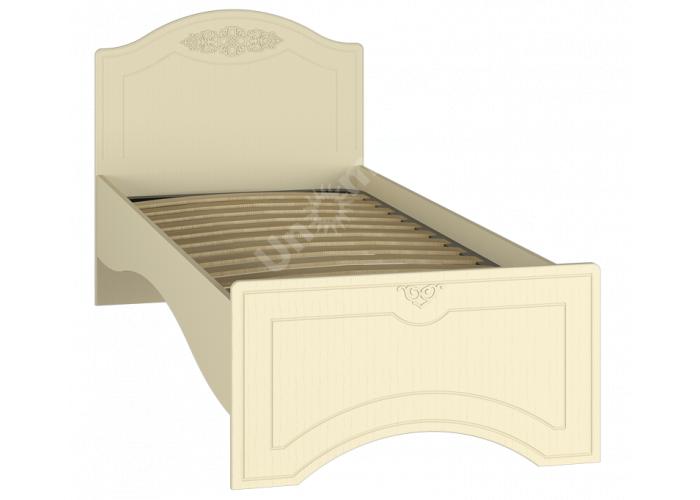 Ассоль plus Ваниль, АС-26 кровать без ламелей, Детская мебель, Детские кровати, Стоимость 7712 рублей.