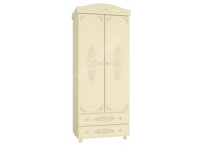 Ассоль plus Ваниль, АС-2 шкаф для одежды, Спальни, Шкафы, Стоимость 21226 рублей.