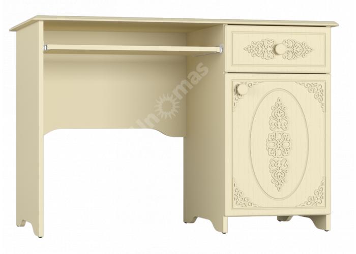 Ассоль plus Ваниль, АС-242К стол, Офисная мебель, Компьютерные и письменные столы, Стоимость 9627 рублей.