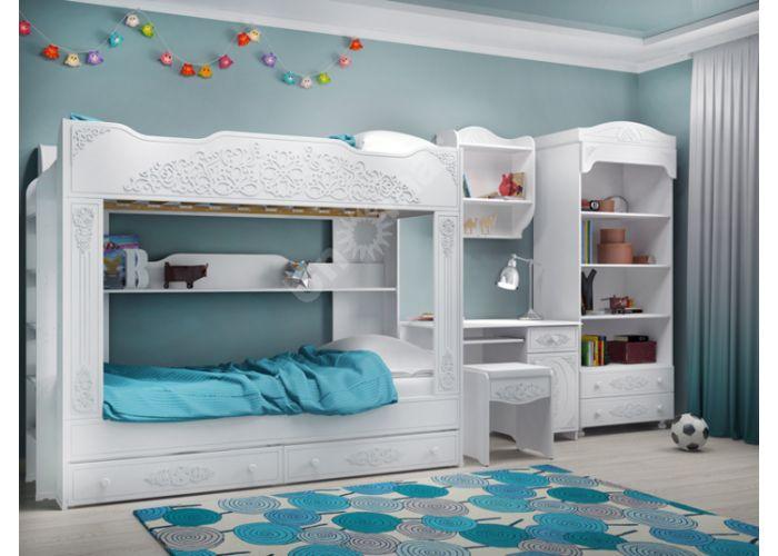 Ассоль, АС-6 Стол письменный правый, Детская мебель, Модульные детские комнаты, Ассоль, Стоимость 10252 рублей., фото 6