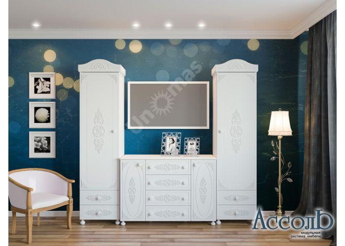 Ассоль, АС-5 Комод, Детская мебель, Модульные детские комнаты, Ассоль, Стоимость 10428 рублей., фото 2