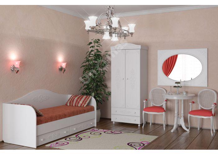 Ассоль, АС-10 кровать (бортик в комплекте), Спальни, Кровати, Стоимость 13893 рублей., фото 2