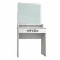 Мебель бытовая Эконом-стандарт стол туалетный с полкой и зеркалом ТС-11К+ТН-1