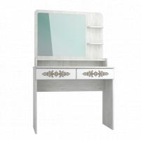 Мебель бытовая Эконом-стандарт стол туалетный с полкой и зеркалом ТС-21К+ТН-3