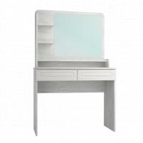 Мебель бытовая Эконом-стандарт стол туалетный с полкой и зеркалом ТС-22К+ТН-3