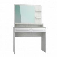 Мебель бытовая Эконом-стандарт стол туалетный с полкой и зеркалом ТС-23К+ТН-3