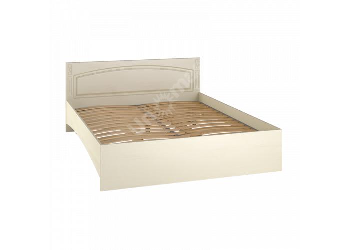 Элизабет Клен, ЭМ-14 кровать двуспальная без ламелей, Спальни, Кровати, Стоимость 6178 рублей.