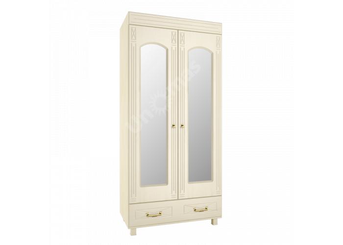 Элизабет Клен, ЭМ-16 шкаф платяной с зеркалом, Спальни, Модульные спальни, Стоимость 19696 рублей.
