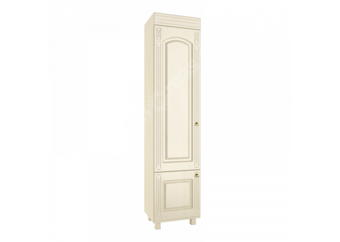 Элизабет, ЭМ-4.1 шкаф-витрина, Офисная мебель, Офисные пеналы, Стоимость 9544 рублей.
