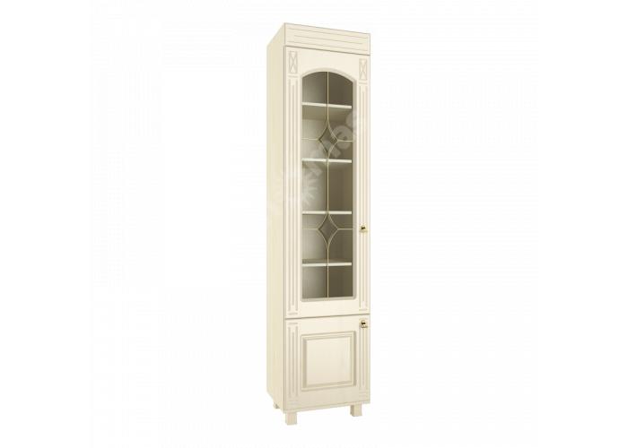 Элизабет, ЭМ-4 шкаф-витрина со стеклом, Гостиные, Модульные гостиные системы, Элизабет , Стоимость 13018 рублей.