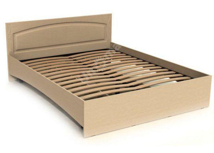 Элизабет Орех, ЭМ-14 кровать двухспальная без ламелей, Спальни, Кровати, Стоимость 6682 рублей., фото 5