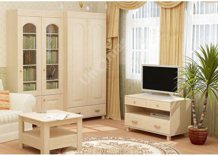 Элизабет, ЭМ-4.1 шкаф-витрина, Офисная мебель, Офисные пеналы, Стоимость 8848 рублей., фото 4