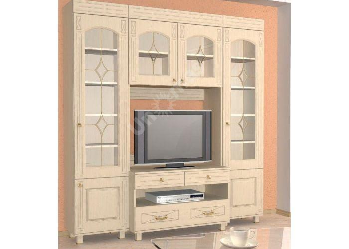 Элизабет, ЭМ-4.1 шкаф-витрина, Офисная мебель, Офисные пеналы, Стоимость 8848 рублей., фото 2