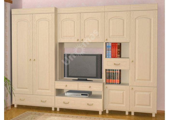 Элизабет, ЭМ-4.1 шкаф-витрина, Офисная мебель, Офисные пеналы, Стоимость 8848 рублей., фото 3