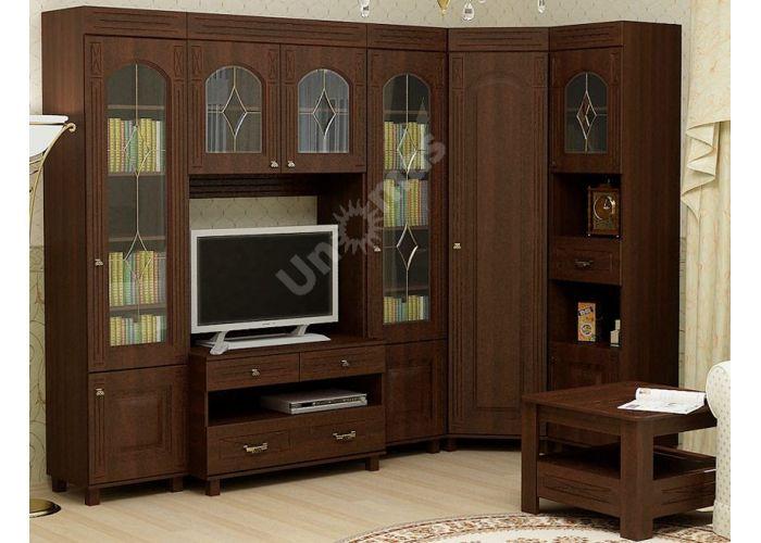 Элизабет, ЭМ-4.1 шкаф-витрина, Офисная мебель, Офисные пеналы, Стоимость 8848 рублей., фото 6