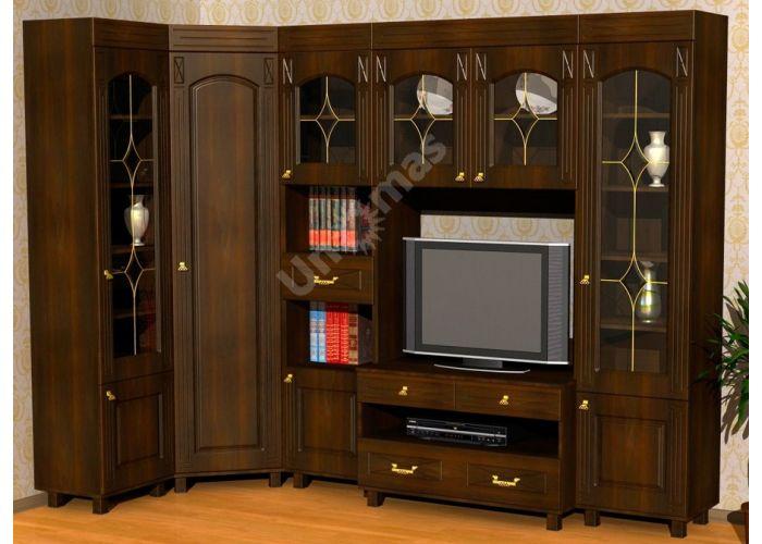 Элизабет, ЭМ-4.1 шкаф-витрина, Офисная мебель, Офисные пеналы, Стоимость 8848 рублей., фото 8