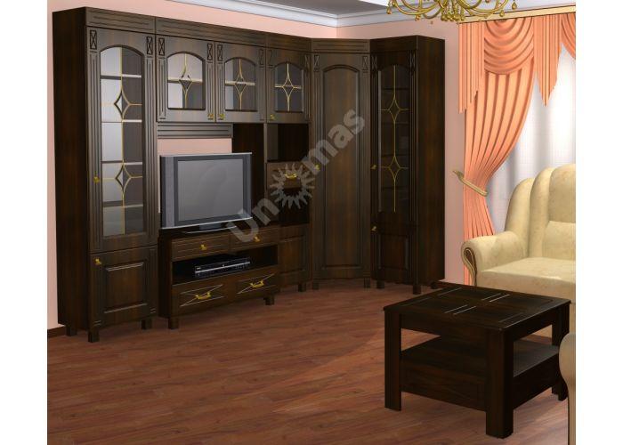Элизабет, ЭМ-2 шкаф под телевизор со стеклом, Гостиные, ТВ Тумбы, Стоимость 18894 рублей., фото 3
