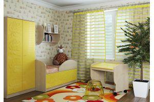 Маугли 3D Клен / Желтый глянец