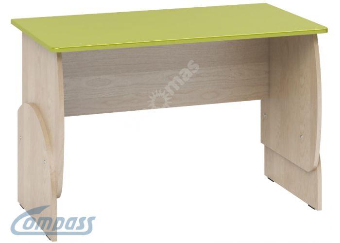 Маугли 3D, МДМ-10 Стол Клен / Лайм глянец, Детская мебель, Детские парты, Стоимость 3388 рублей.