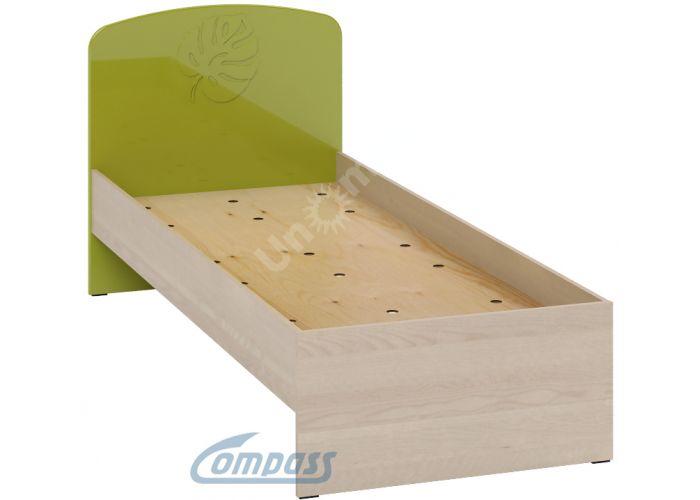 Маугли 3D, МДМ-11 Кровать без ламелей Клен / Лайм глянец, Спальни, Кровати, Стоимость 5118 рублей.