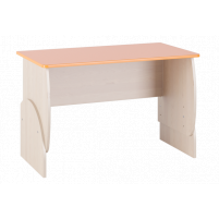 Маугли 3D, МДМ-10 Стол Клен / Оранж глянец