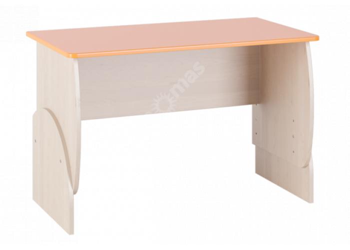 Маугли 3D, МДМ-10 Стол Клен / Оранж глянец, Детская мебель, Детские парты, Стоимость 3315 рублей.