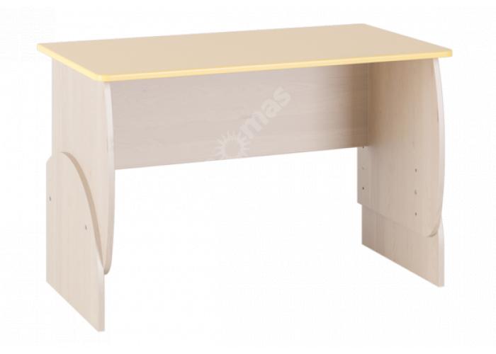 Маугли 3D, МДМ-10 Стол Клен / Желтый глянец, Детская мебель, Детские парты, Стоимость 3315 рублей.