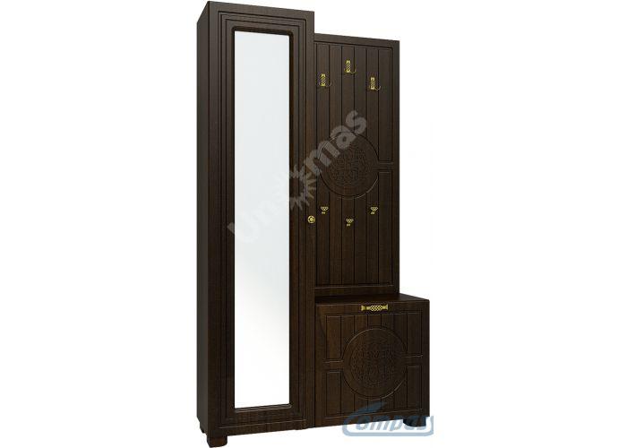 Монблан, МБ-10 Шкаф комбинированный, Прихожие, Прихожие, Стоимость 19007 рублей.