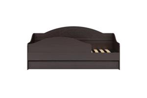 Соня Премиум Венге патина, СО-25К кровать без ламелей