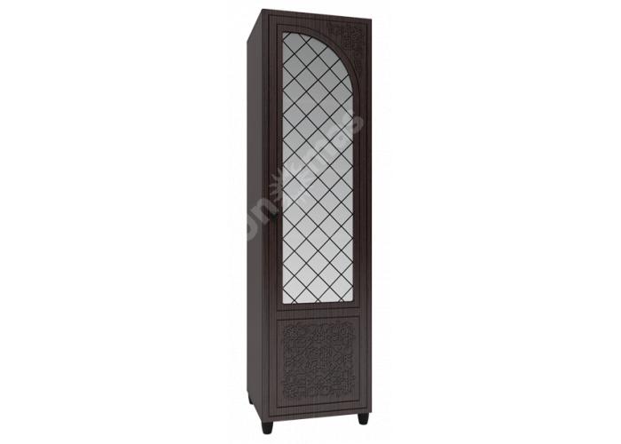 Соня Премиум Венге патина, СО-13К шкаф-пенал со стеклом правый, Офисная мебель, Офисные пеналы, Стоимость 13127 рублей.