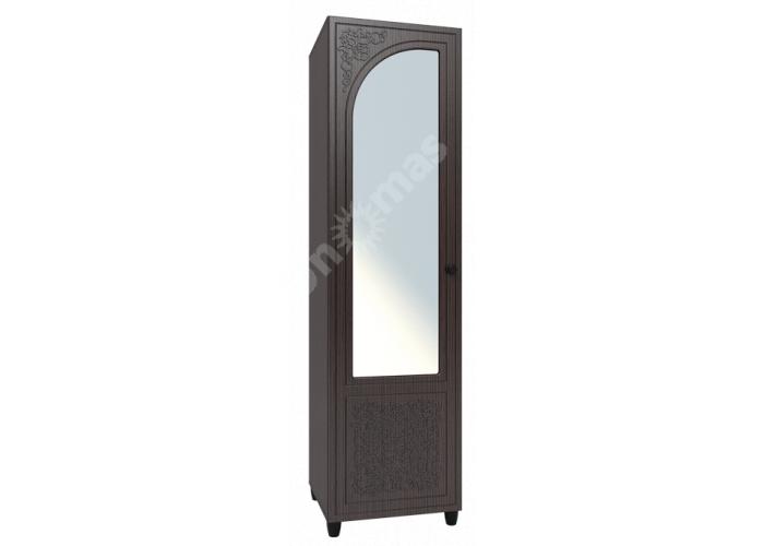 Соня Премиум Венге патина, СО-13К шкаф-пенал с зеркалом левый, Офисная мебель, Офисные пеналы, Стоимость 13651 рублей.