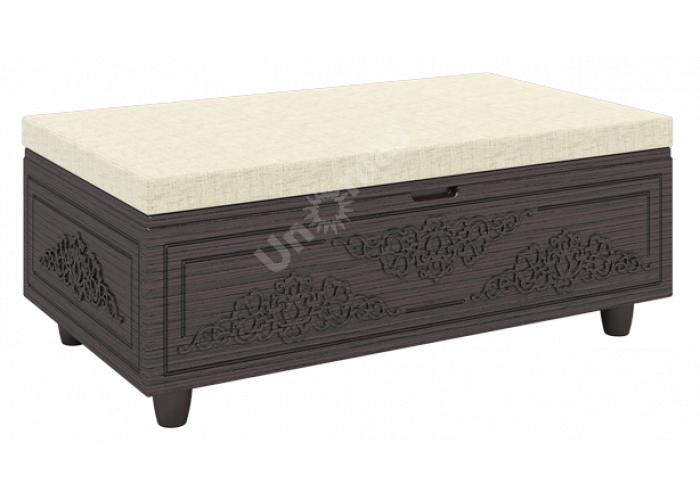 Соня Премиум Венге патина, СО-30К тумба, Мягкая мебель, Пуфики, Стоимость 11322 рублей.
