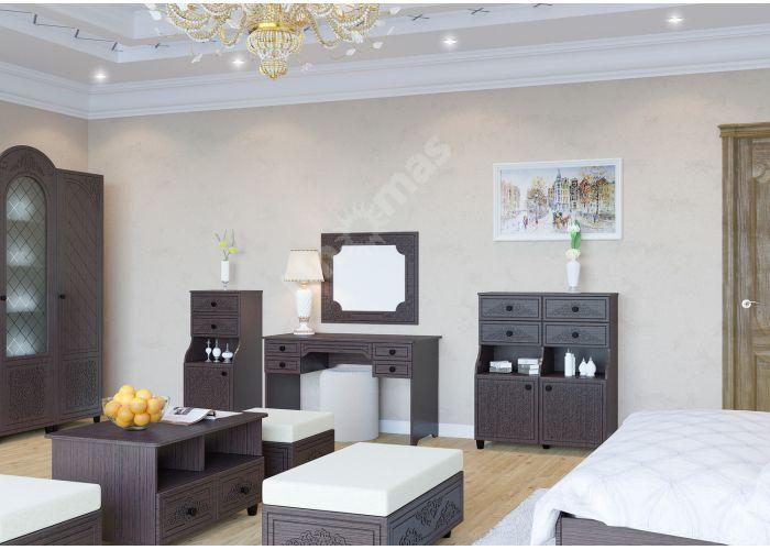 Соня Премиум Венге патина, СО-28К тумба, Мягкая мебель, Пуфики, Стоимость 7460 рублей., фото 2