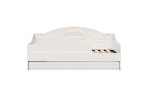 Соня Премиум Ясень патина, СО-25К кровать без ламелей (бортик в комплекте)