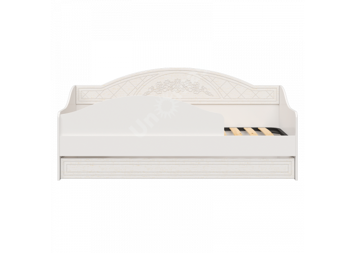 Соня Премиум Ясень патина, СО-25К кровать без ламелей, Спальни, Кровати, Стоимость 13697 рублей.
