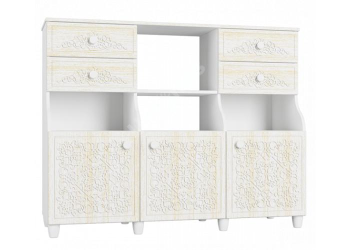 Соня Премиум Ясень патина, СО-16К шкаф комбинированный, Спальни, Комоды, Стоимость 19085 рублей.