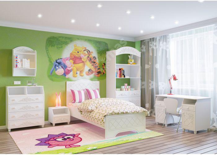 Соня Премиум Ясень патина, СО-25К кровать без ламелей, Спальни, Кровати, Стоимость 13697 рублей., фото 3