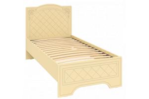 Соня Бежевый, СО-2К кровать без ламелей
