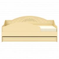Соня Бежевый, СО-25К кровать без ламелей (бортик в комплекте)
