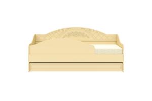 Соня Бежевый, СО-25К кровать без ламеле