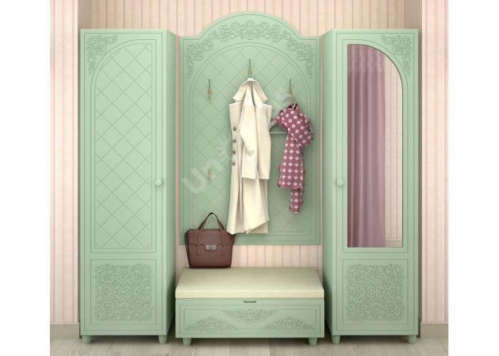 Соня Салат шагрень, СО-11К шкаф для одежды, Спальни, Шкафы, Стоимость 16458 рублей., фото 2