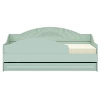 Соня Салат шагрень, СО-25К кровать без ламелей (бортик в комплекте)