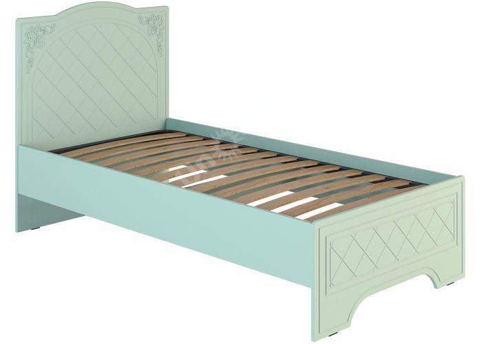 Соня Салат шагрень, СО-2К кровать без ламелей, Спальни, Кровати, Стоимость 8434 рублей.