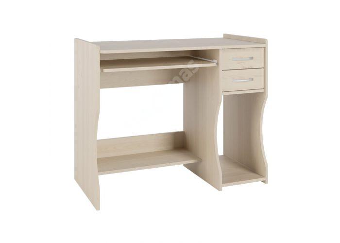 С 203 стол компьютерный Береза снежная, Офисная мебель, Компьютерные и письменные столы, Стоимость 5179 рублей.