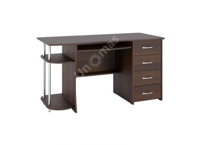 С 222БН стол компьютерный  Орех темный, Офисная мебель, Компьютерные и письменные столы, Стоимость 7441 рублей.
