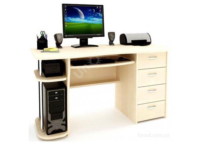 С 222БН стол компьютерный  Ольха, Офисная мебель, Компьютерные и письменные столы, Стоимость 7441 рублей., фото 2